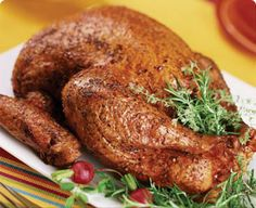 This is a quick and flavorful way to cook a whole turkey.  You'll be amazed by the juiciness of the meat and by the speed in which your turkey cooks. Preparation: For best results, choose a turkey weighing less than 14 pounds. Turkey parts, such as wings, thighs and breasts …