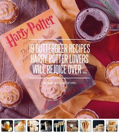 19 #Butterbeer Recipes  Harry Potter Lovers ⚡️ Will Rejoice over  ... - Food