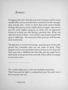langleav: More poems by Lang Leav ♡ Poem Quotes, Words Quotes, Life Quotes, Sayings, Qoutes, Angel Quotes, The Words, Pretty Words, Beautiful Words
