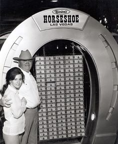 #TBT   #throwbackthursday  With The #WSOP World series of #Poker starting this week.   We thought we'd tip our hat to the original and the man who started it all.  Benny Binion and the famous Horseshoe!