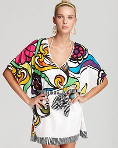 Trina Turk Aquarius Cover Up Tunic | Bloomingdales