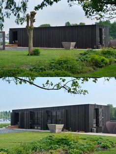 .. woonark door Piet Boon, uitgevoerd door Spruyt Arkenbouw - Aalsmeer