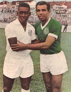 Vavá Sempre Parou o 'rei' quando a partida era Palmeiras X Santos