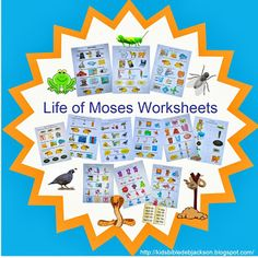 Life of Moses Worksheets