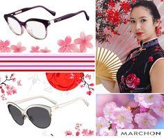 A moda oriental chegou de vez ao Brasil! Quimonos, estampas florais, tons pasteis, tudo ao estilo oriental. Para combinar, aposte em óculos com armações delicadas e cores claras!