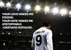 Ronaldo - The most inspirational and motivating player on the pitch