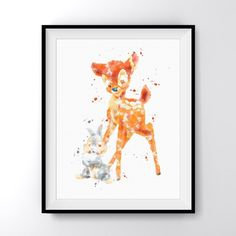 Frame NOT Included. Alice in Wonderland Tea Party Watercolor Art Print Poster. This eye-catching image doesn't need much light to stand out in the room and give