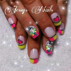 Cute Nail Art, Cute Nails, Healthy Nails, Nail Decorations, Stylish Nails, Nail Care, Nail Designs, Valentines, Hipsters