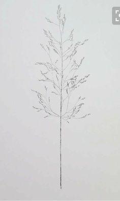 Small handmade original botanical monoprint by Stef Mitchell wild plant grass… Botanical Tattoo, Botanical Illustration, Botanical Prints, Et Tattoo, Nature Tattoos, Art Mural, Beautiful Tattoos, Flower Tattoos, Grass