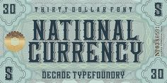 By Decade Typefoundry :: http://www.flickr.com/photos/decadetypefoundry/ #typography #design