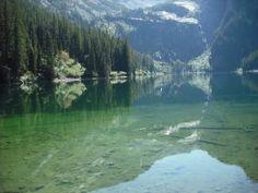 Most Clear Lake -Flathead Lake-Montana- United States