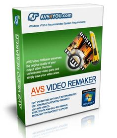 AVS Video ReMaker 2018 Download. AVS Video ReMaker v4.1.4.150 Minimum System Requirements Processor: Intel / AMD compatible at 1.86 GHz or higher RAM: 1 GB or higher Sound: Windows compatible sound card DirectX: Microsoft DirectX 9.0c or later Administrative permissions for program installation and activation Internet connection to activate Windows
