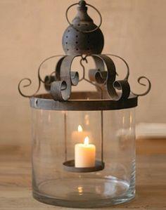french candle lantern, so beautiful!