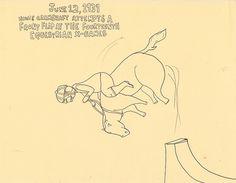tee hee.  One of the more mild Porous Walker drawings.