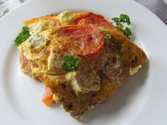 Greckie smaki: Omlet z pieca