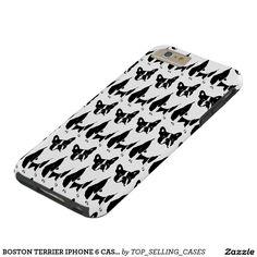 BOSTON TERRIER IPHONE 6 CASE WOW