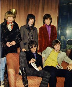 The Rolling Stones - Milan; Beatles, 70s Fashion, Vintage Fashion, Los Rolling Stones, Swinging London, Pop Rock, Rockn Roll, Band Photos, Keith Richards