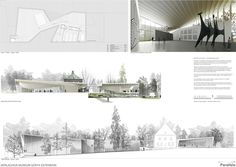 Image 4 of 6 from gallery of Gösta Contemporary Art Museum Extension Competition Winner / MX_SI. competition layout 04