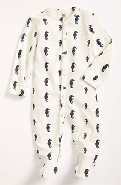 Kate Quinn Organics Print Footie (Infant) available at #Nordstrom