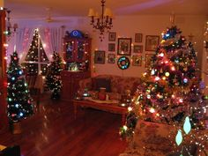 This is our loungeroom, Christmas 2010