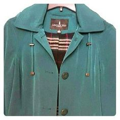 I just added this to my closet on Poshmark: REDUCED! *Green London Fog Raincoat*. Price: $45 Size: S