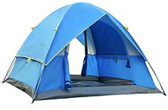 Introducing Generic Large Space 3 Person Tent Color Blue. Great product and follow us for more updates!