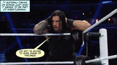 Credit - Jen@dean-ambrose.net Wwe Funny, Hilarious, Watch Wrestling, I Just Dont Care, Wwe Roman Reigns, Seth Rollins, Professional Wrestling, It's Meant To Be, Cheer Up