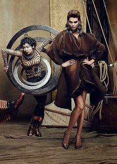 Alexandra Tomlinson for Fashion Magazine