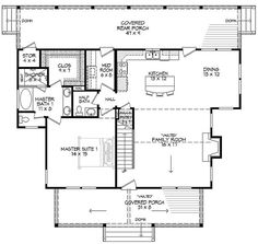 COOL house plans offers a unique variety of professionally designed home plans with floor plans by accredited home designers. Styles include country house plans, colonial, Victorian, European, and ranch. Blueprints for small to luxury home styles. Craftsman Style Doors, Rooms Ideas, Grand Kitchen, House Plans And More, Country Style House Plans, Country Homes, New Home Designs, Beach Cottages, Tiny Cottages