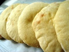 The dough in this pita recipe is mixed by a bread machine. I own a Sunbeam bread machine  , and the small investment ($60) was very much wo...
