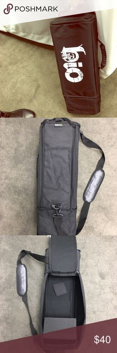 Water pipe carrying case. Never been used! Bio brand bong carrying case. Transport your favorite piece everywhere you go with this heavy duty padded carrying case! Multiple handles for easy carrying. Multiple zippers for hidden storage! Never used. Smells brand new! Bio Accessories