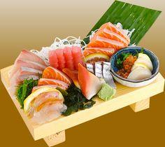 comida japonêsa sashimi