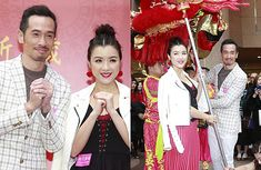 Moses Chan and Aimee Chan Prepared 1,000 Red Envelopes for Lunar New Year