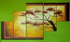 Drzewo szczęścia  Prezent dla Ewuni i Pawła Akryl, ręcznie malowany na płótnie