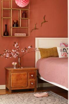 Rostpastell – die neue Farbe im Schlafzimmer   My home is my horst