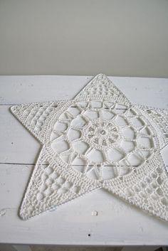 Crochet Star.. #inspiration_crochet #diy GB
