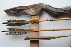 Blacktail Bows Legacy series hand carved, heirloom, investment-grade traditional archery recurve bow - Blacktail Bow Company, LLC  I'm drooling over these