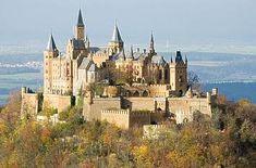 Burg Hohenzollern in der Schwäbischen Alb (zwischen Stuttgart und Konstanz) (how to get there: http://www.burg-hohenzollern.com/driving-directions.html)