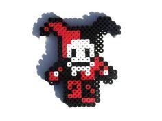 Harley Quinn Perler Bead Sprite by PXLTD