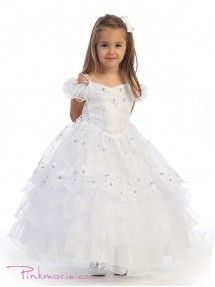 Find Little Girls Embroidered Organza Overlay Flowers Girls Dresses online. Shop the latest collection of Little Girls Embroidered Organza Overlay Flowers Girls Dresses from the popular stores - all in one Pageant Dresses, Quinceanera Dresses, Bridal Dresses, Cheap Flower Girl Dresses, Flower Girls, Ball Gowns Evening, Evening Dresses, Princess Ball Gowns, Princess Bridal