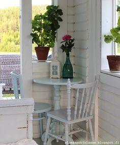 Elämää pohjolassa Felder, Conservatory, Porch, Places, Home, Stuff Stuff, Balcony, Winter Garden, Patio