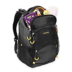 image of Columbia Pine Oaks™ Backpack Diaper Bag in Black