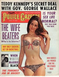 The National Police Gazette March 1972