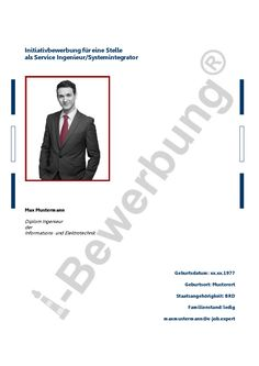 Muster Für Deckblatt Und Anschreiben Zur Initiativbewerbung