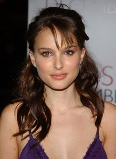 Natalie Portman's bouncy curls and lush lashes are absolutely beautiful