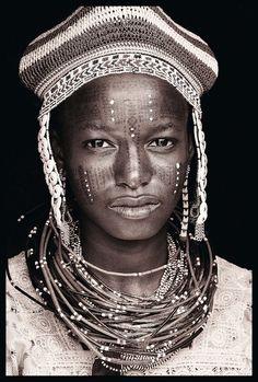 portraits noirs et blancs | Portrait de femme du monde