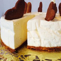 Chrismas cake Gingerbread cheesecake