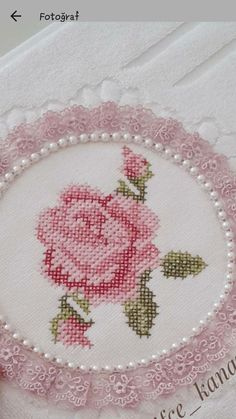 Cross Stitch Charts, Cross Stitch Designs, Cross Stitch Patterns, Cross Stitching, Cross Stitch Embroidery, Hand Embroidery, Wedding Hands, Crochet Leaves, Rose Cottage