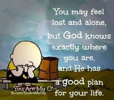 God has a good plan for your life! quotes quotes about love quotes for teens quotes god quotes motivation The Words, Snoopy Quotes, Knowing God, Way Of Life, Spiritual Quotes, Christian Quotes, Bible Quotes, Quotes Quotes, Tagalog Quotes