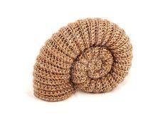 Pyritised ammonite amigurumi no.2 by kaelby.deviantart.com on @deviantART